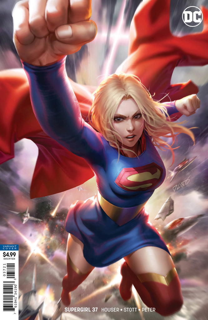 Supergirl (2016 Series) #37 (Variant Card Stock Cover - Derrick Chew)