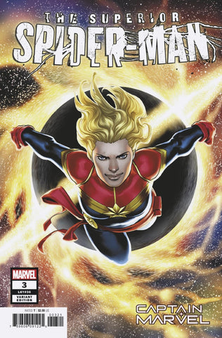 "Superior Spider-Man (2018 series) #3 (Variant ""Captain Marvel"" Cover - Jesus Saiz)"
