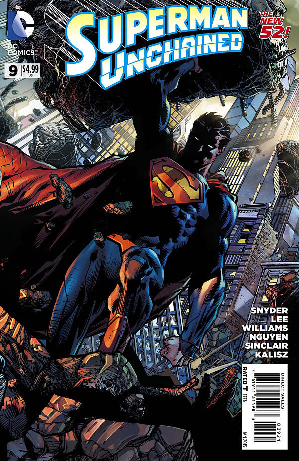 Superman Unchained (2013 Mini-Series) #9 (Variant Incentive Cover - David Finch)