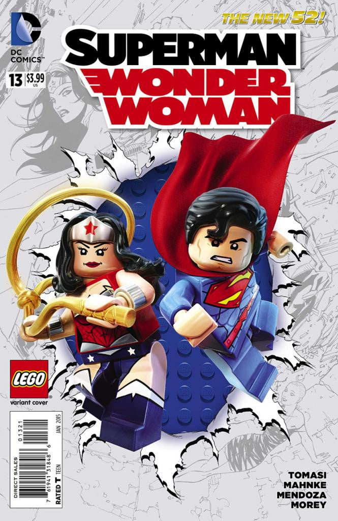 Superman / Wonder Woman (2013 Series) #13 (Variant Cover - LEGO)