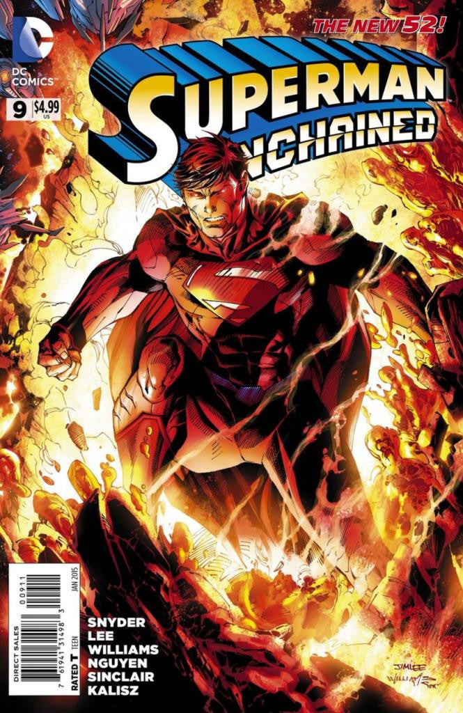 Superman Unchained (2013 Mini-Series) #9
