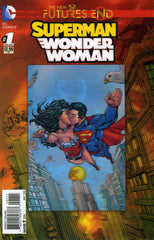 "New 52: Future's End - Superman / Wonder Woman (2014 mini-series) #1 + #1 [SET] — War & Peace (All Variant ""3-D"" Covers)"