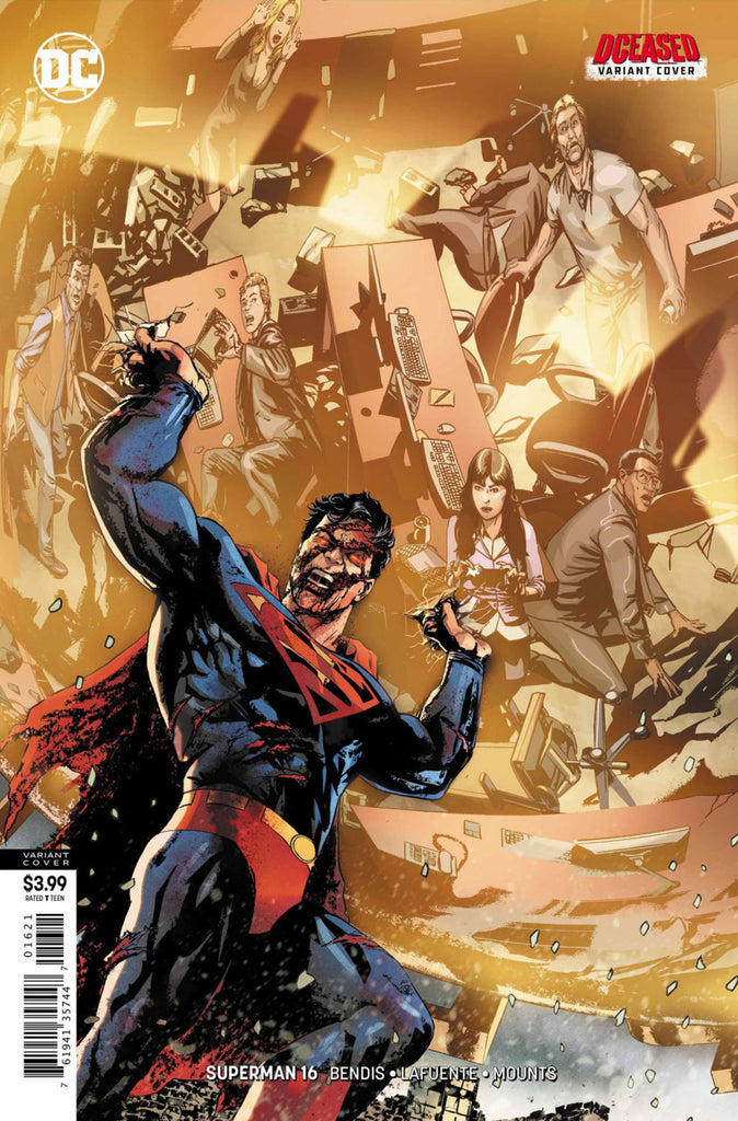 "Superman (2018 series) #16 (Variant ""DCeased"" Cover - Bryan Hitch)"