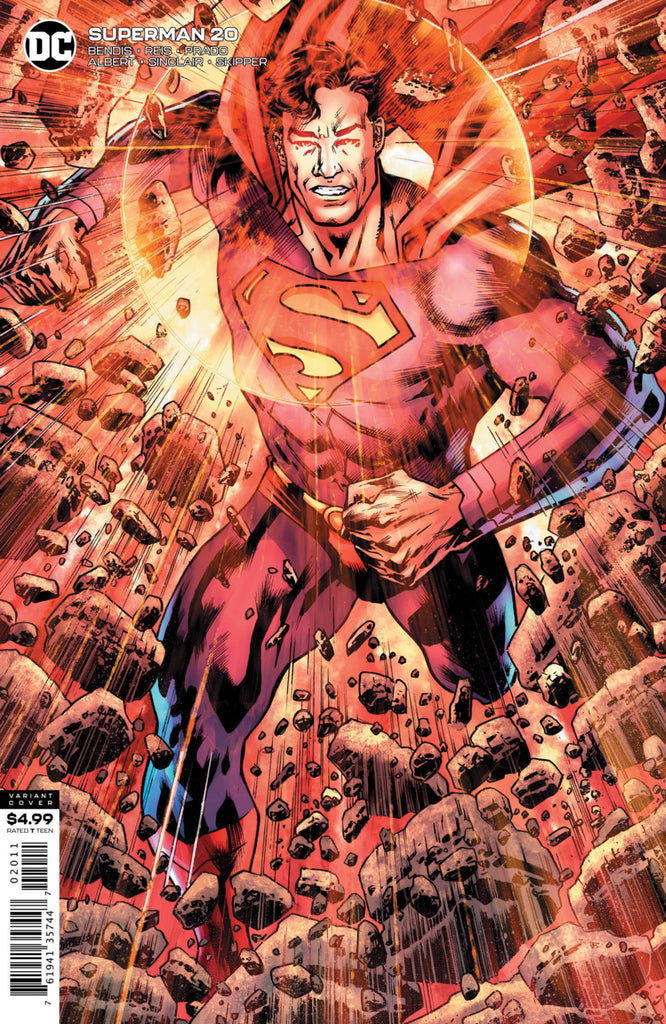 Superman (2018 series) #20 (Variant Card Stock Cover - Bryan Hitch)