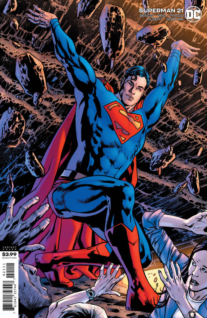 Superman (2018 series) #21 (Variant Cover - Bryan Hitch)