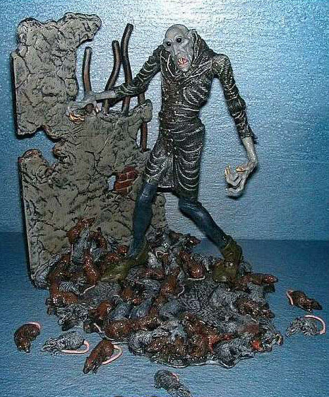 "Silent Screamers – Series 1 – Count Graf Orlak 6"" Figure from ""Nosferatu"" (1922)"