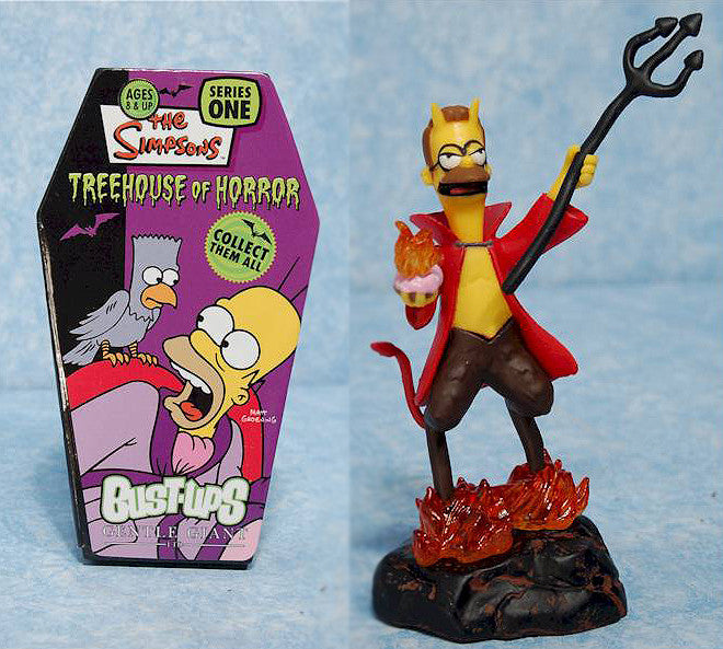Simpsons (TV) – Treehouse of Horror Bust-Ups Series 1 – Devil Flanders