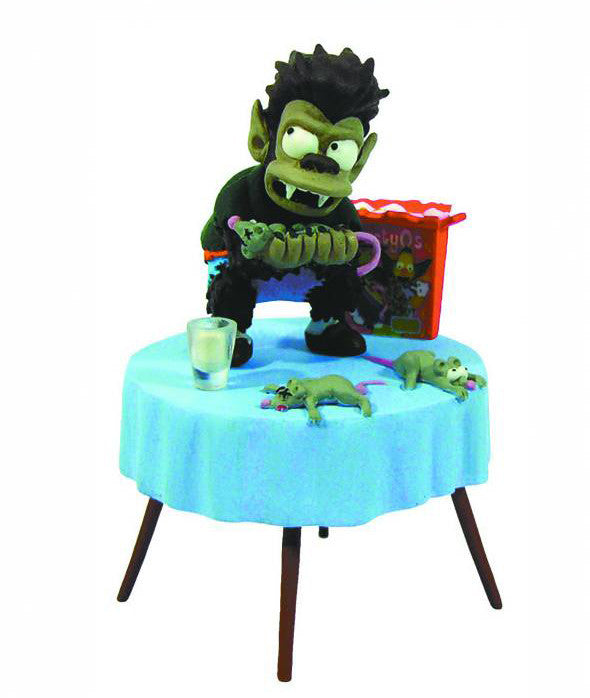 Simpsons (TV) – Treehouse of Horror Bust-Ups Series 4 – Werewolf Bart