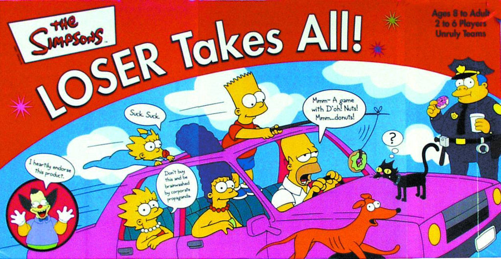 Simpsons (TV) – Loser Takes All Board Game