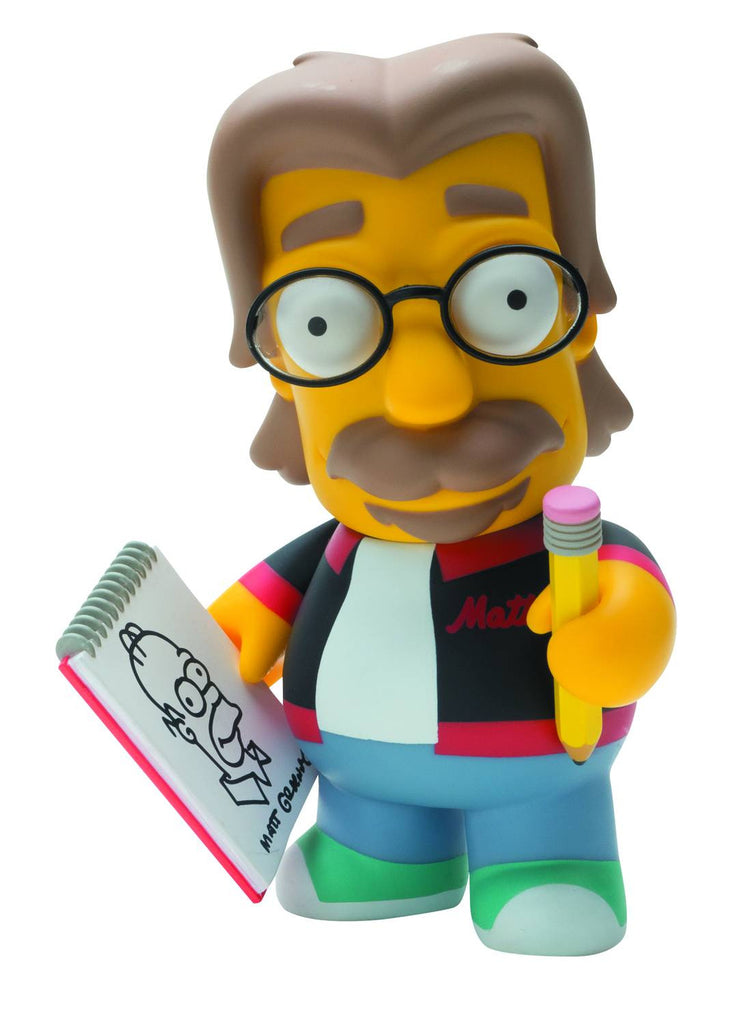 "Simpsons (TV) – KidRobot Vinyl Figure – Matt Groening 6"" Vinyl Figure"