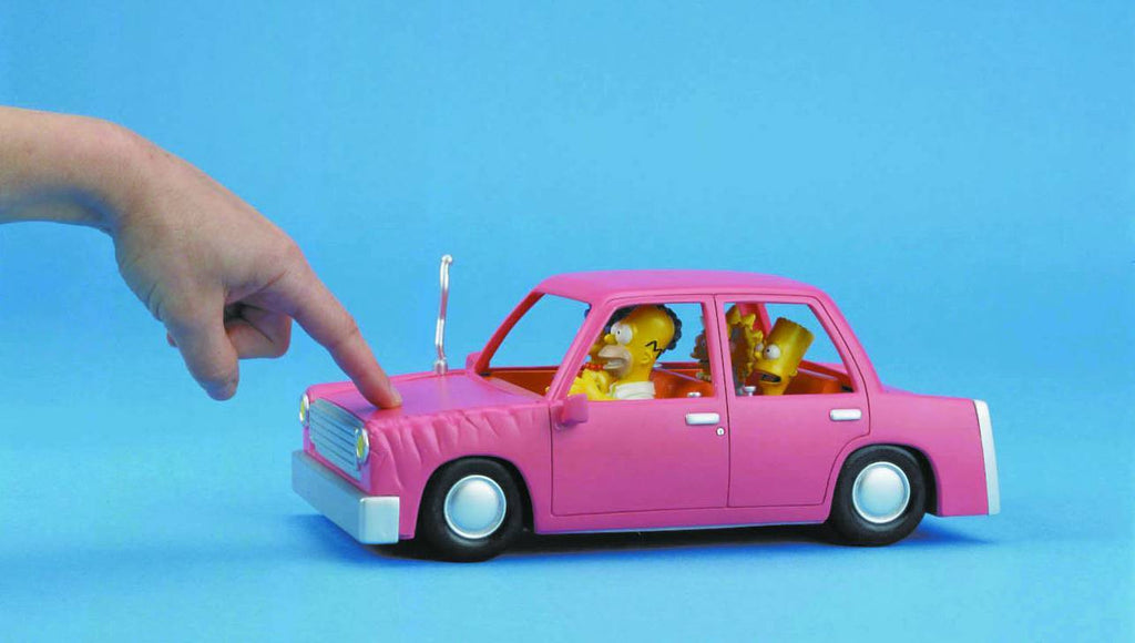 Simpsons (TV) – World of Springfield Special – Talking Family Car Interactive Playset