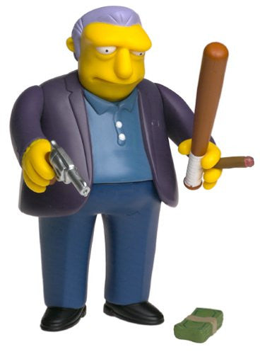 "Simpsons (TV) – World of Springfield – All-Star Celebrity Voices Series 1 – Fat Tony Interactive 5"" Figure (Joe Mantegna)"