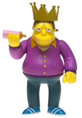 "Simpsons (TV) – World of Springfield – Wave 11 – Plow King Barney Gumble Interactive 5"" Figure"