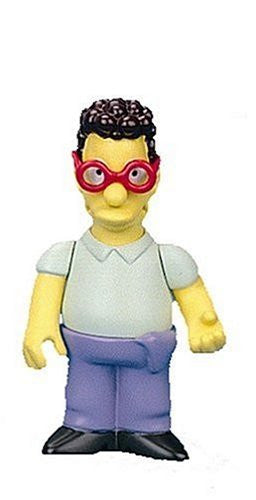 "Simpsons (TV) – World of Springfield – Wave 12 – Database Interactive 5"" Figure"