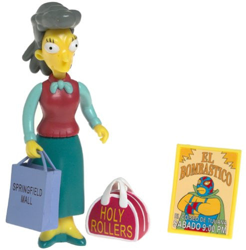 "Simpsons (TV) – World of Springfield – Wave 13 – Helen Lovejoy Interactive 5"" Figure"