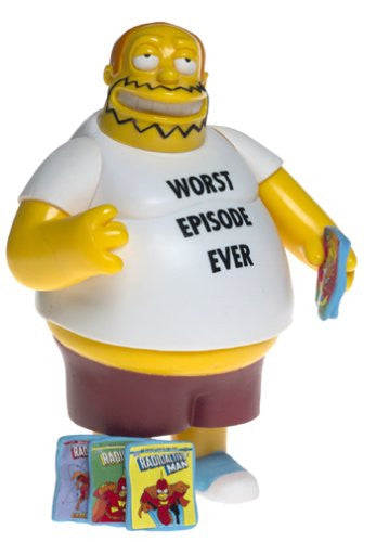 "Simpsons (TV) – World of Springfield – Wave 15 – Comic Book Guy Interactive 5"" Figure"