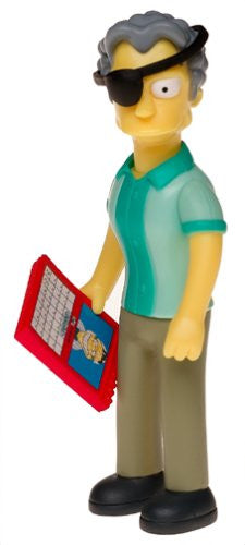 "Simpsons (TV) – World of Springfield – Wave 15 – Handsome Moe Interactive 5"" Figure"