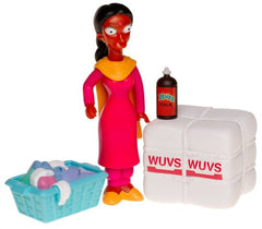 "Simpsons (TV) – World of Springfield – Wave 15 – Manjula Interactive 5"" Figure"