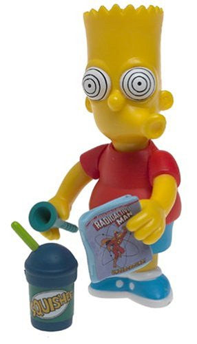 "Simpsons (TV) – World of Springfield – Wave 16 – Brain Freeze Bart Interactive 5"" Figure"