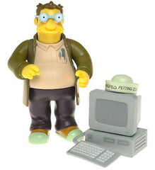 "Simpsons (TV) – World of Springfield – Wave 16 – Doug Interactive 5"" Figure"