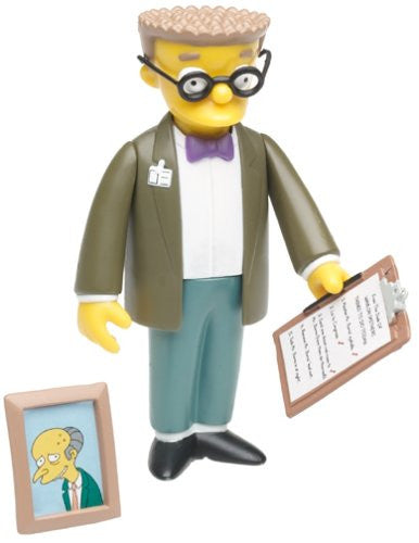 "Simpsons (TV) – World of Springfield – Wave 2 – Waylon Smithers Interactive 5"" Figure"