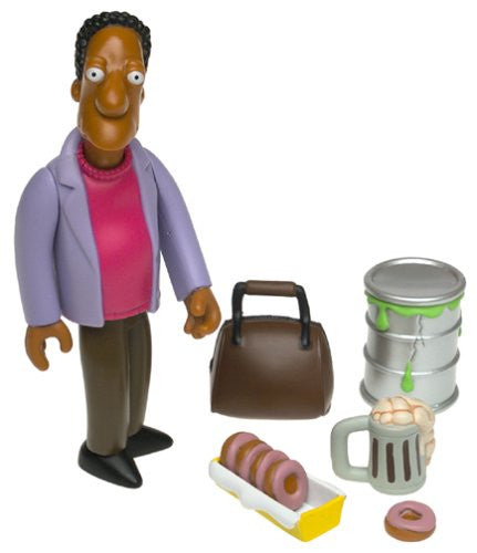 "Simpsons (TV) – World of Springfield – Wave 6 – Carl Carlson Interactive 5"" Figure"