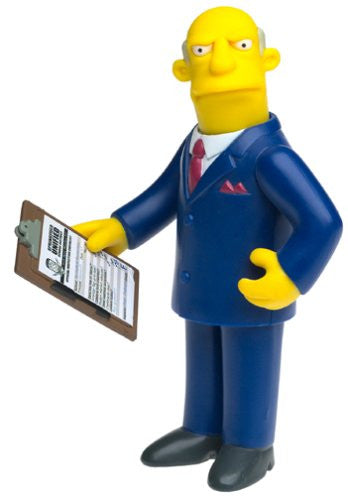 "Simpsons (TV) – World of Springfield – Wave 8 – Superintendent Chalmers Interactive 5"" Figure"