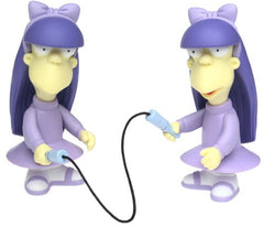 "Simpsons (TV) – World of Springfield – Wave 8 – Sherri & Terri Interactive 5"" Figures"