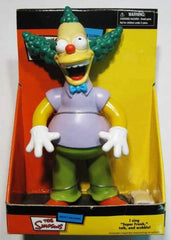 Simpsons (TV) – Krusty the Clown Dancing & Singing Dashboard Wobbler