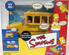 Simpsons (TV) – World of Springfield Special – Talking Elementary School Bus Interactive Playset