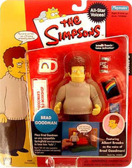 "Simpsons (TV) – World of Springfield – All-Star Celebrity Voices Series 2 – Brad Goodman Interactive 5"" Figure (Albert Brooks)"