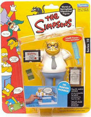 "Simpsons (TV) – World of Springfield – Wave 10 – Dr. Marvin Monroe Interactive 5"" Figure"