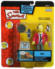 "Simpsons (TV) – World of Springfield – Wave 11 – Gil Interactive 5"" Figure"