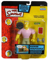 "Simpsons (TV) – World of Springfield – Wave 11 – Rainier Wolfcastle Interactive 5"" Figure"