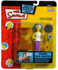 "Simpsons (TV) – World of Springfield – Wave 12 – Luann Van Houten Interactive 5"" Figure"