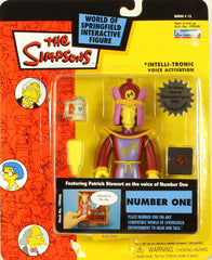 "Simpsons (TV) – World of Springfield – Wave 12 – Number One Interactive 5"" Figure"