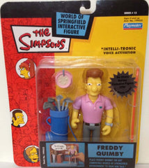 "Simpsons (TV) – World of Springfield – Wave 13 – Freddy Quimby Interactive 5"" Figure"
