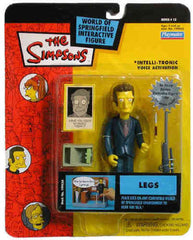 "Simpsons (TV) – World of Springfield – Wave 13 – Legs Interactive 5"" Figure"