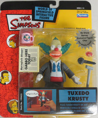 "Simpsons (TV) – World of Springfield – Wave 13 – Tuxedo Krusty Interactive 5"" Figure"