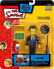 "Simpsons (TV) – World of Springfield – Wave 14 – Louie Interactive 5"" Figure"