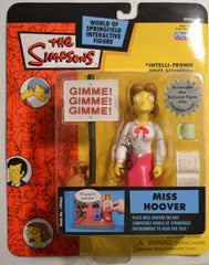 "Simpsons (TV) – World of Springfield – Wave 14 – Miss Hoover Interactive 5"" Figure"