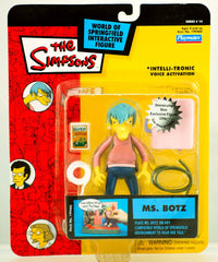"Simpsons (TV) – World of Springfield – Wave 14 – Ms. Botz Interactive 5"" Figure"