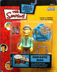 "Simpsons (TV) – World of Springfield – Wave 14 – Sarcastic Man Interactive 5"" Figure"