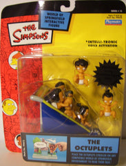 "Simpsons (TV) – World of Springfield – Wave 15 – Octuplets Interactive 5"" Figures"