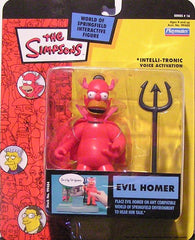 "Simpsons (TV) – World of Springfield – Wave 16 – Evil Homer Interactive 5"" Figure"