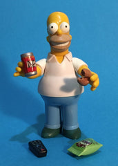 "Simpsons (TV) – World of Springfield – Wave 1 – Homer Simpson Interactive 5"" Figure"