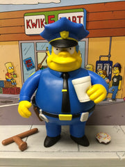 "Simpsons (TV) – World of Springfield – Wave 2 – Chief Wiggum Interactive 5"" Figure"