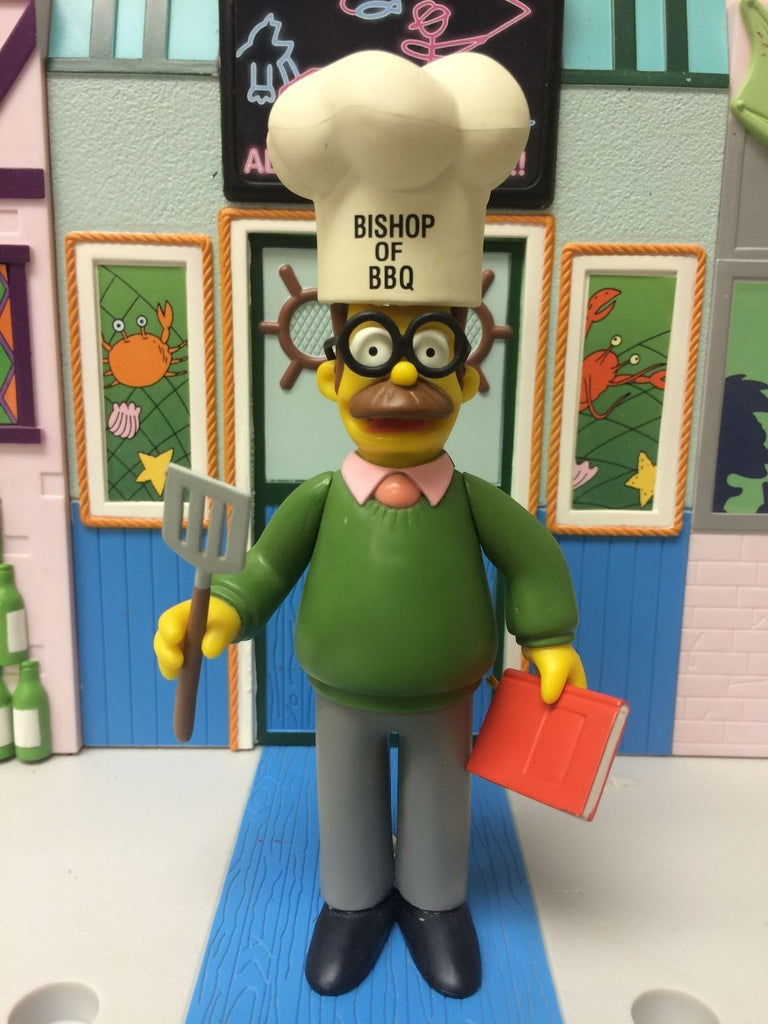 "Simpsons (TV) – World of Springfield – Wave 2 – Ned Flanders Interactive 5"" Figure"