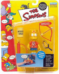 "Simpsons (TV) – World of Springfield – Wave 3 – Kamp Krusty Bart Interactive 5"" Figure"