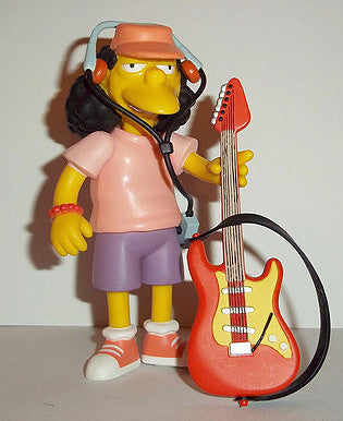 "Simpsons (TV) – World of Springfield – Wave 3 – Otto Mann Interactive 5"" Figure"